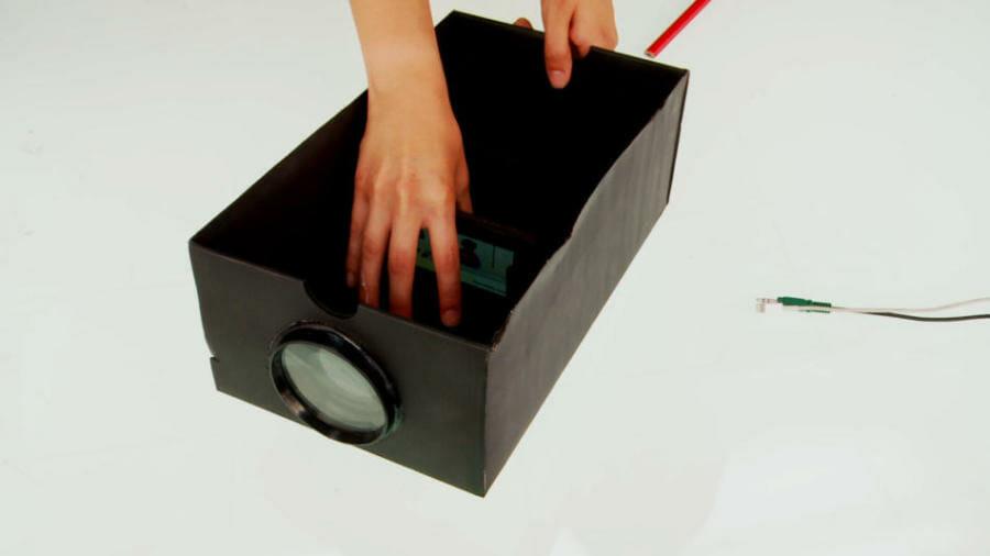 Como hacer un proyector para celular