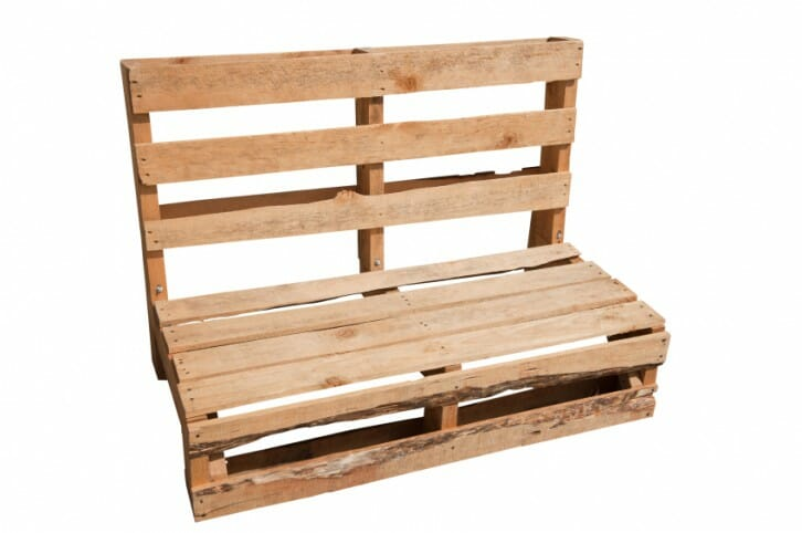 Como hacer un sillon o banco con pallets reciclados