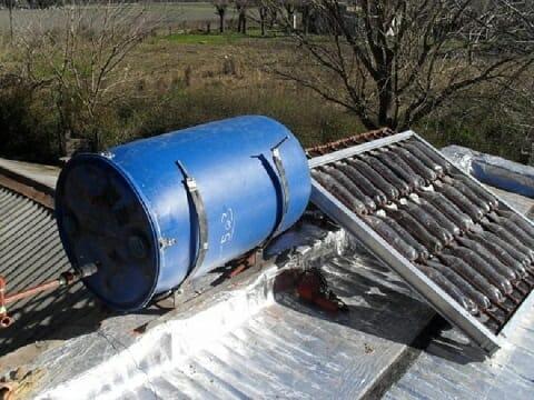 Como hacer un termotanque solar con botellas recicladas