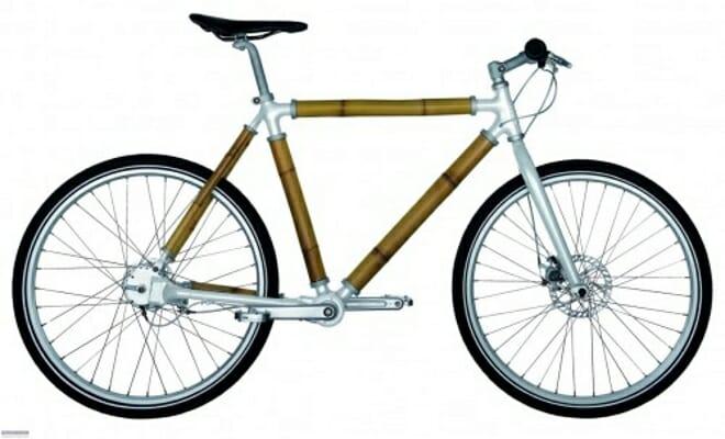 Como fabricar una bicicleta con cañas de bambú