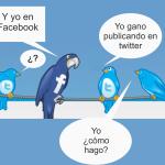 Como ganar dinero con facebook y twitter