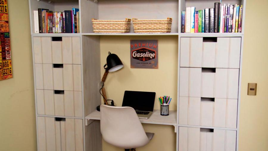 ropero y escritorio para niños